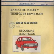 Coches y Motocicletas: CATALOGO DE L COCHE FORD ESCORT MANUAL DE TALLER - ABRIL 1982. Lote 231734005