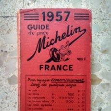 Coches y Motocicletas: GUÍA DE NEUMÁTICOS - MICHELIN - 1957 - FRANCE - BIBENDUM. Lote 231946170
