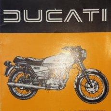 Carros e motociclos: INSTRUCCIONES PARA EL USO Y EL ENTRETENIMIENTO DUCATI STRADA 250. Lote 232220800