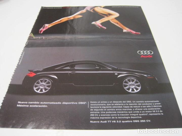 AUDI TT: ANUNCIO PUBLICIDAD 2004 (Coches y Motocicletas Antiguas y Clásicas - Catálogos, Publicidad y Libros de mecánica)