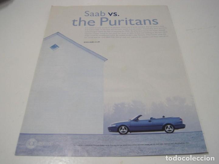 SAAB 93 CONVERTIBLE: ANUNCIO PUBLICIDAD 2000 (Coches y Motocicletas Antiguas y Clásicas - Catálogos, Publicidad y Libros de mecánica)