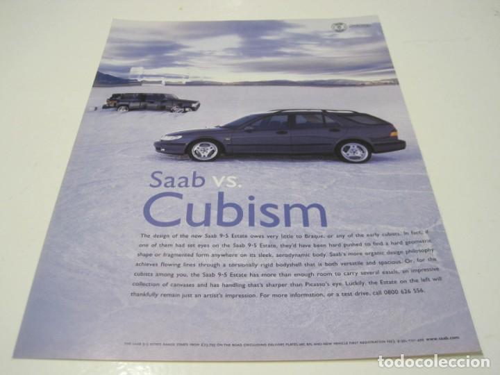 SAAB 9-5 ESTATE: ANUNCIO PUBLICIDAD 1999 (Coches y Motocicletas Antiguas y Clásicas - Catálogos, Publicidad y Libros de mecánica)