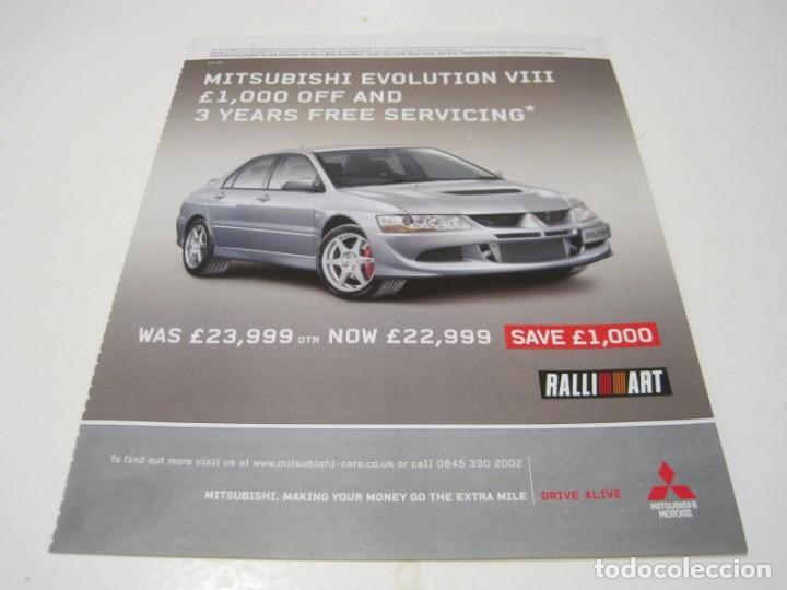 MITSUBISHI LANCER EVOLUTION VIII: ANUNCIO PUBLICIDAD 2005 (Coches y Motocicletas Antiguas y Clásicas - Catálogos, Publicidad y Libros de mecánica)