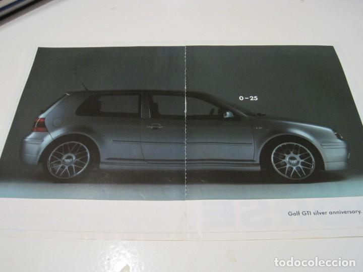VW GOLF IV GTI SILVER ANNIVERSARY: ANUNCIO PUBLICIDAD 2002 (Coches y Motocicletas Antiguas y Clásicas - Catálogos, Publicidad y Libros de mecánica)