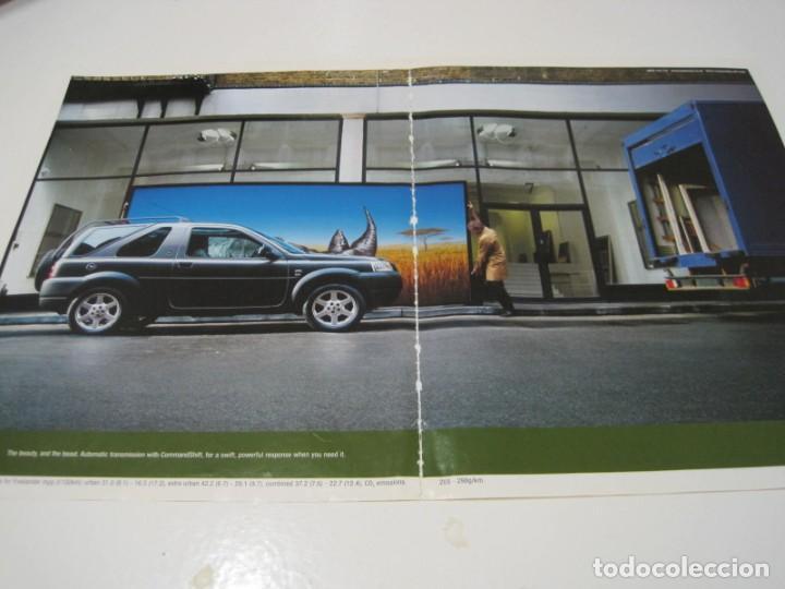LAND ROVER FREELANDER: ANUNCIO PUBLICIDAD 2002 (Coches y Motocicletas Antiguas y Clásicas - Catálogos, Publicidad y Libros de mecánica)