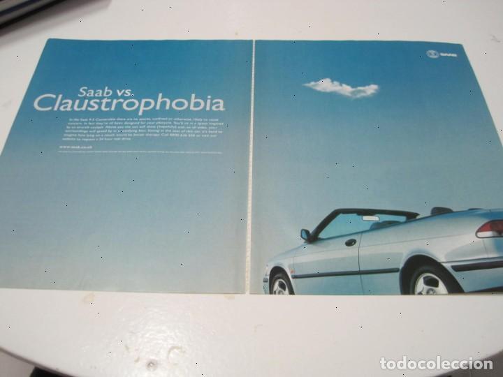 SAAB 9-3 CONVERTIBLE: ANUNCIO PUBLICIDAD 2000 (Coches y Motocicletas Antiguas y Clásicas - Catálogos, Publicidad y Libros de mecánica)