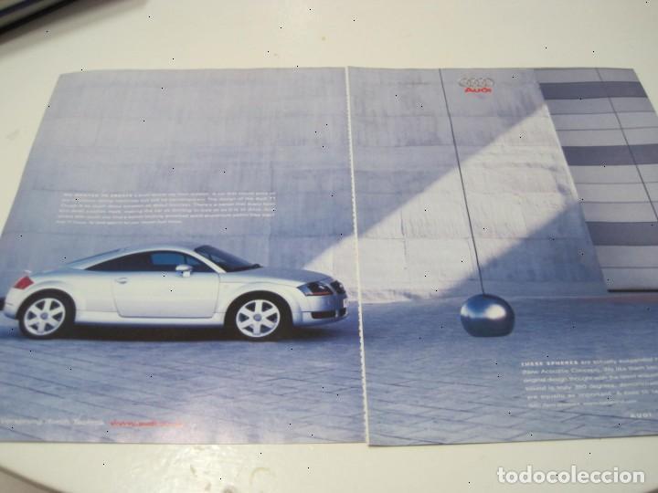AUDI TT: ANUNCIO PUBLICIDAD 2000 (Coches y Motocicletas Antiguas y Clásicas - Catálogos, Publicidad y Libros de mecánica)
