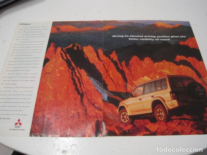 MITSUBISHI MONTERO (SHOGUN): ANUNCIO PUBLICIDAD 1996 (Coches y Motocicletas Antiguas y Clásicas - Catálogos, Publicidad y Libros de mecánica)