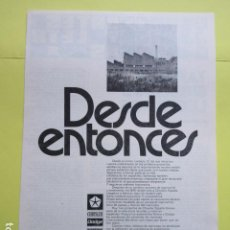 Coches y Motocicletas: PUBLICIDAD 1974 - CHRYSLER DODGE BARREIROS SIMCA. Lote 235080910