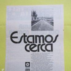 Coches y Motocicletas: PUBLICIDAD 1974 - CHRYSLER DODGE BARREIROS SIMCA. Lote 235080985