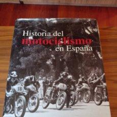 Coches y Motocicletas: LIBRO HISTORIA DEL MOTOCICLISMO EN ESPAÑA RACC. Lote 235222090