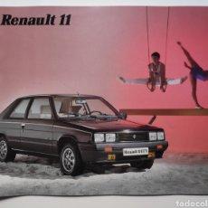Coches y Motocicletas: RENAULT 11 CATÁLOGO GTX GTC GTL TXE TURBO GTD AÑO 1985. Lote 235233400