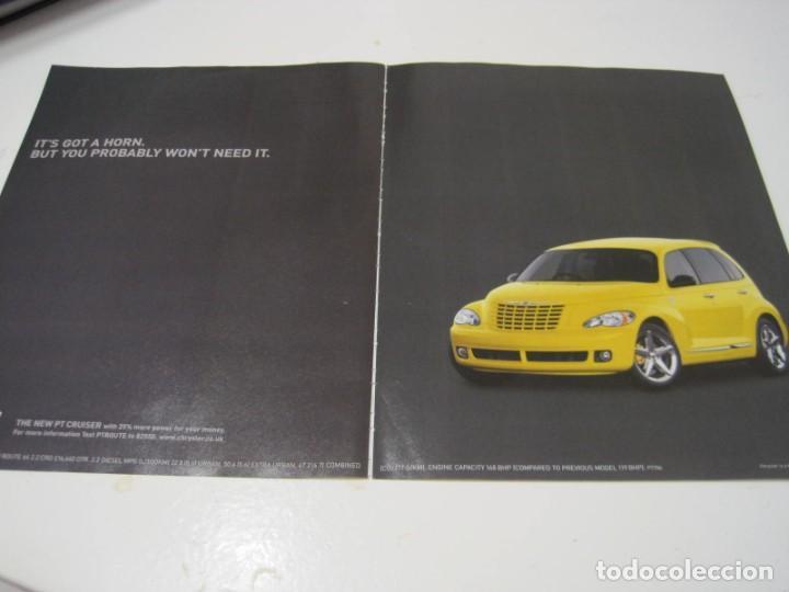 CHRYSLER PT CRUISER: ANUNCIO PUBLICIDAD 2005 (Coches y Motocicletas Antiguas y Clásicas - Catálogos, Publicidad y Libros de mecánica)