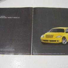 Coches y Motocicletas: CHRYSLER PT CRUISER: ANUNCIO PUBLICIDAD 2005. Lote 236274405