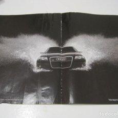 Coches y Motocicletas: AUDI RS4: ANUNCIO PUBLICIDAD 2005. Lote 236274435