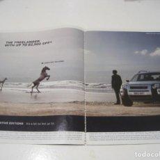 Coches y Motocicletas: LAND ROVER FREELANDER: ANUNCIO PUBLICIDAD 2006. Lote 236274525