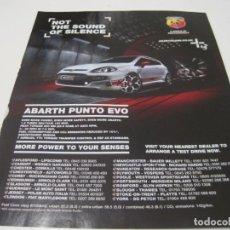 Coches y Motocicletas: FIAT ABARTH PUNTO EVO 165CV: ANUNCIO PUBLICIDAD 2010. Lote 236274640