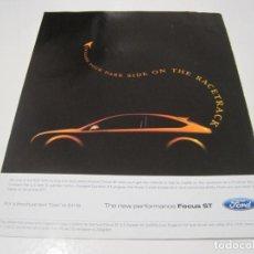 Coches y Motocicletas: FORD FOCUS ST: ANUNCIO PUBLICIDAD 2006. Lote 236274690