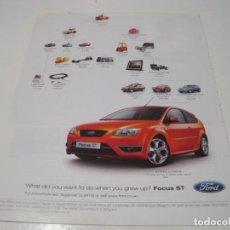 Coches y Motocicletas: FORD FOCUS ST: ANUNCIO PUBLICIDAD 2006. Lote 236274710