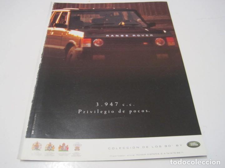 RANGE ROVER V8: ANUNCIO PUBLICIDAD 1990 (Coches y Motocicletas Antiguas y Clásicas - Catálogos, Publicidad y Libros de mecánica)