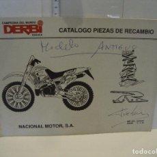 Coches y Motocicletas: CATALOGO PIEZAS DE RECAMBIO DERBI MODELO SENDA R. Lote 236691255