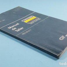 Coches y Motocicletas: GUIA DE TASACIONES MANUAL DE TALLER RENAULT 4,5/7 SUPERCINCO,6,8,12,14,18 Y 9/11.ENERO 1986 209 PAG. Lote 236785190