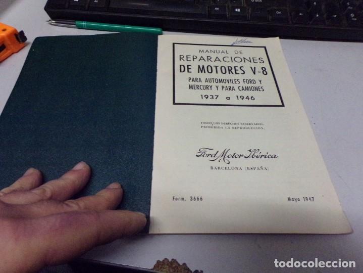 Coches y Motocicletas: antiguo manual de reparaciones de motores v-8 para automoviles y camiones - Foto 2 - 237283755