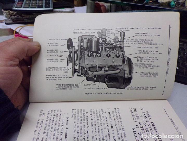 Coches y Motocicletas: antiguo manual de reparaciones de motores v-8 para automoviles y camiones - Foto 4 - 237283755