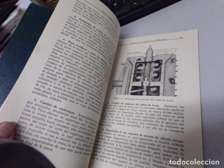 Coches y Motocicletas: antiguo manual de reparaciones de motores v-8 para automoviles y camiones - Foto 5 - 237283755