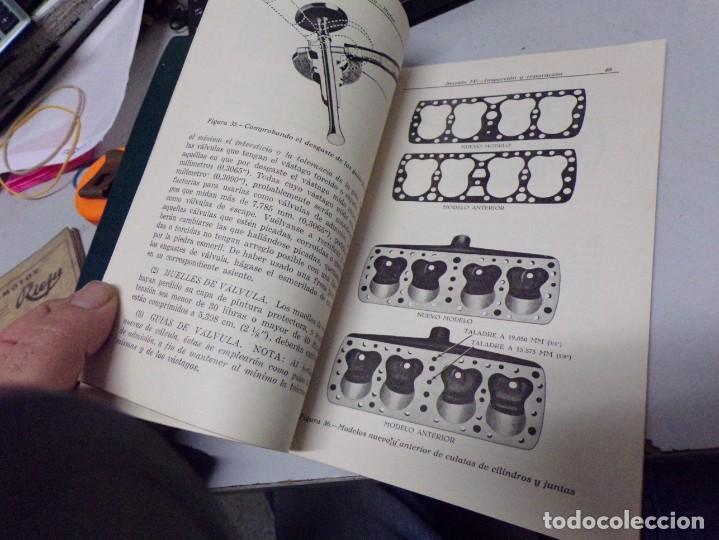 Coches y Motocicletas: antiguo manual de reparaciones de motores v-8 para automoviles y camiones - Foto 6 - 237283755