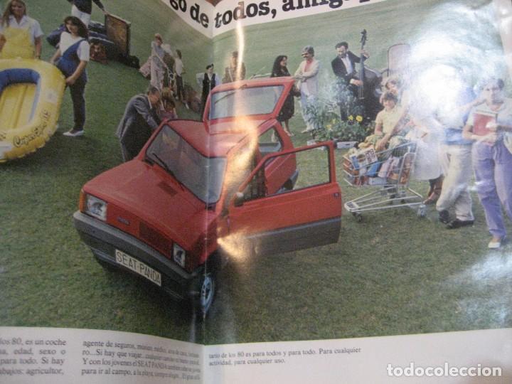 Coches y Motocicletas: catalogo antiguo coche seat panda . 20 paginas año 1980 - Foto 3 - 240975085