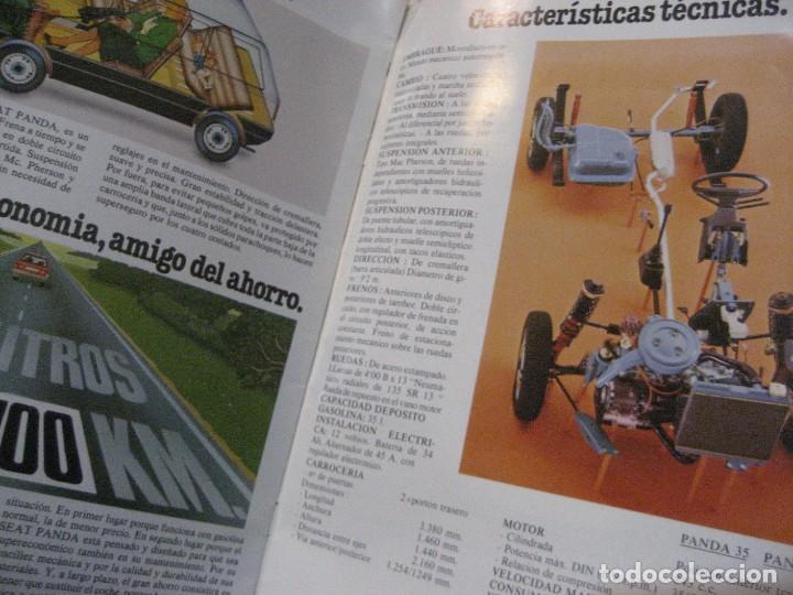 Coches y Motocicletas: catalogo antiguo coche seat panda . 20 paginas año 1980 - Foto 4 - 240975085