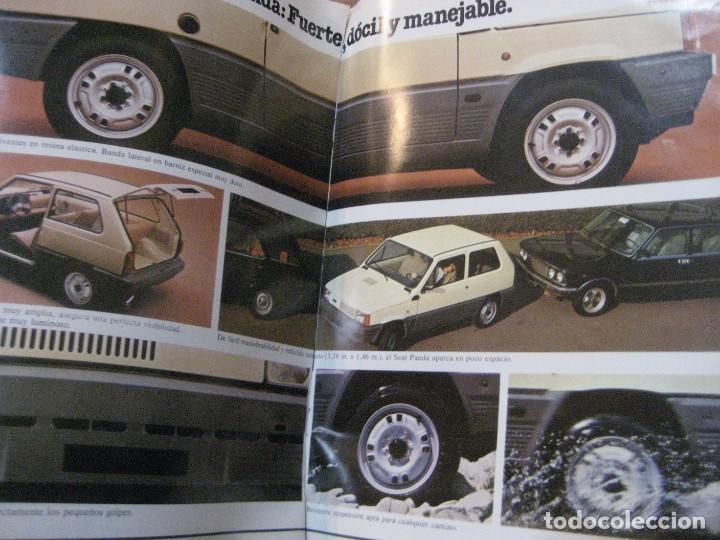 Coches y Motocicletas: catalogo antiguo coche seat panda . 20 paginas año 1980 - Foto 5 - 240975085