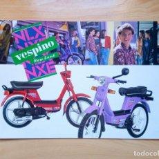 Coches y Motocicletas: MOTO VESPA VESPINO NLX Y NXE - CATÁLOGO MOTO - ESPAÑOL. Lote 262146510
