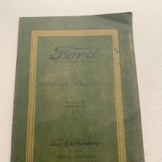 Coches y Motocicletas: FORD MODELO T CATALOGO DE REPUESTOS 1921. Lote 241427640