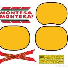 Carros e motociclos: MONTESA ENDURO 360 H6 KIT ADHESIVOS MOTO. Lote 276669383