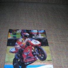Carros e motociclos: PEGATINA ADHESIVA. CAMPEONATO DEL MUNDO SUPERBIKE'97. CIRCUITO DE ALBACETE. MIDE 10 X 12 CM.. Lote 242138665