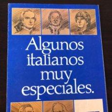 Coches y Motocicletas: CATÁLOGO FOLLETO FIAT-LANCIA-AUTOBIANCHI 1981. Lote 243424730