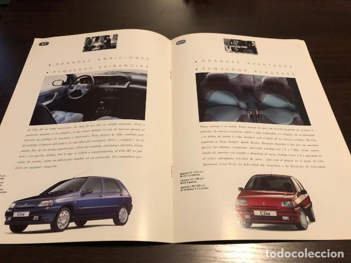 Coches y Motocicletas: Catálogo Renault Clío 1994 - Foto 3 - 243646760