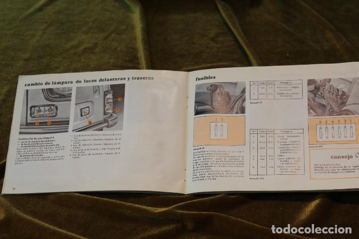 Coches y Motocicletas: Renault 4F, Manual de utilización y entretinimiento,1ª Edición,Enero 1981 - Foto 3 - 243648940