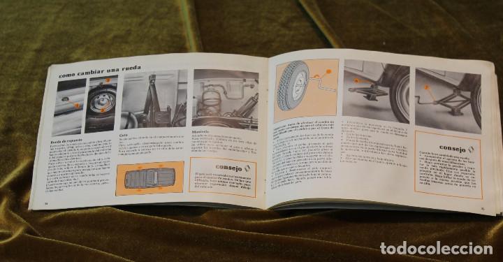 Coches y Motocicletas: Renault 4F, Manual de utilización y entretinimiento,1ª Edición,Enero 1981 - Foto 4 - 243648940