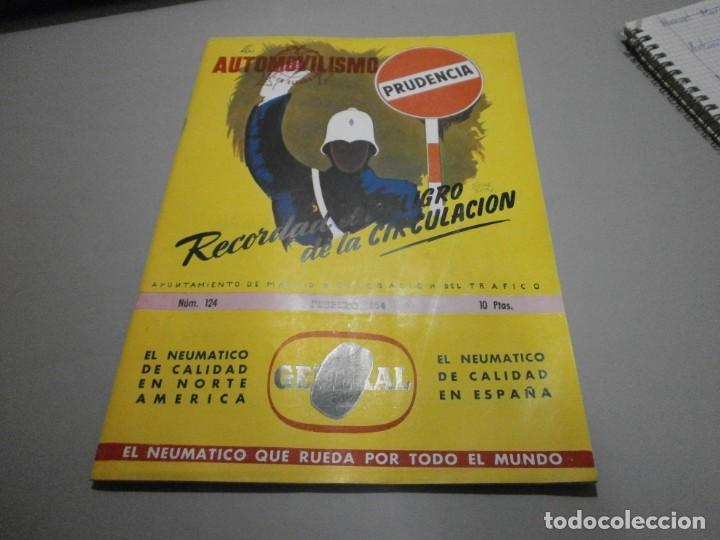 REVISTA AÑO 1954 CON PUBLICIDAD DE VESPA VOLKSWAGEN Y MAS (Coches y Motocicletas Antiguas y Clásicas - Catálogos, Publicidad y Libros de mecánica)