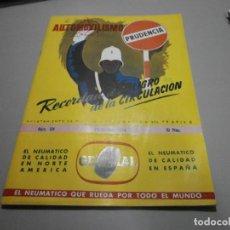 Coches y Motocicletas: REVISTA AÑO 1954 CON PUBLICIDAD DE VESPA VOLKSWAGEN Y MAS. Lote 243847640