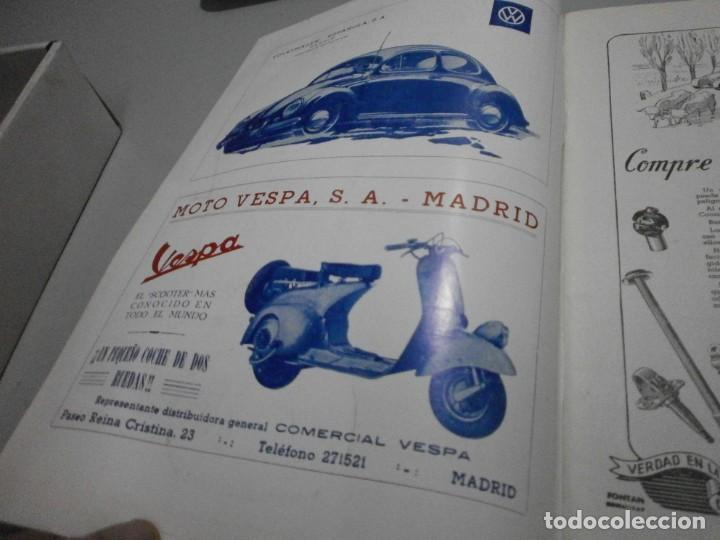 Coches y Motocicletas: revista año 1954 con publicidad de vespa volkswagen y mas - Foto 3 - 243847640