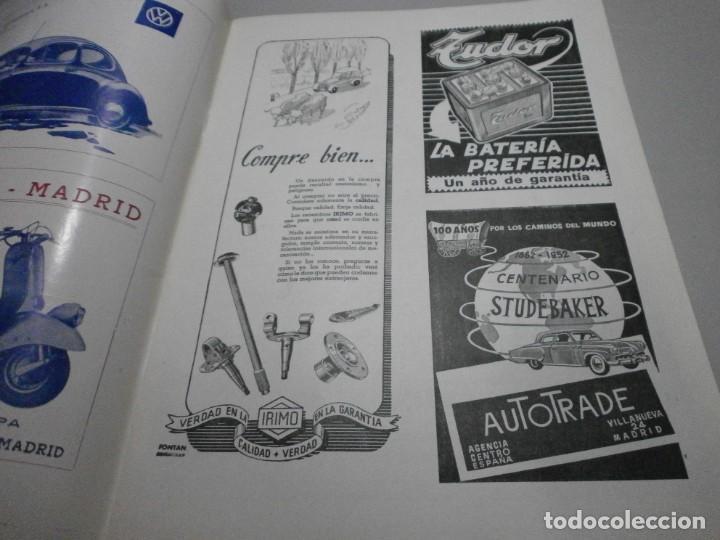 Coches y Motocicletas: revista año 1954 con publicidad de vespa volkswagen y mas - Foto 4 - 243847640
