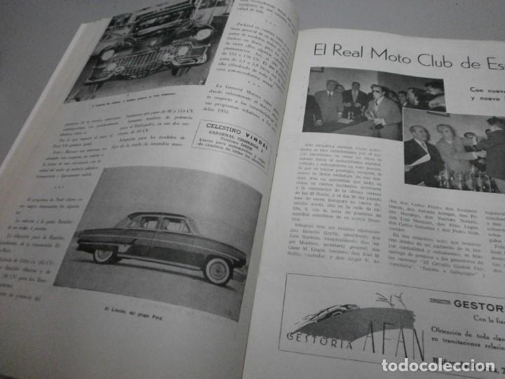 Coches y Motocicletas: revista año 1954 con publicidad de vespa volkswagen y mas - Foto 6 - 243847640