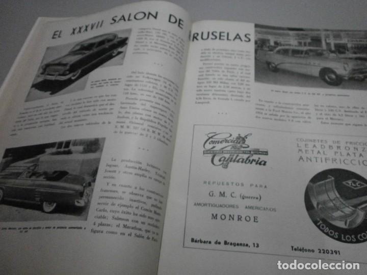 Coches y Motocicletas: revista año 1954 con publicidad de vespa volkswagen y mas - Foto 7 - 243847640