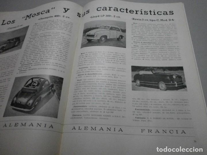 Coches y Motocicletas: revista año 1954 con publicidad de vespa volkswagen y mas - Foto 8 - 243847640