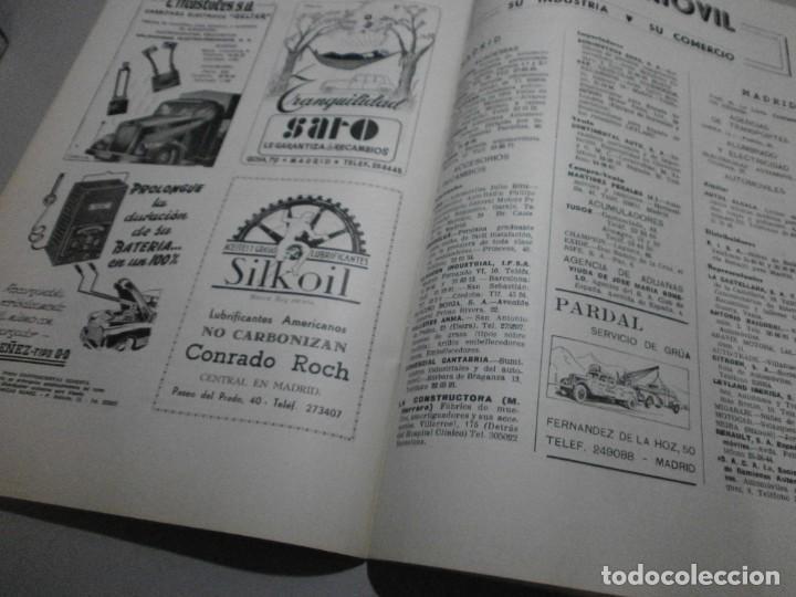 Coches y Motocicletas: revista año 1954 con publicidad de vespa volkswagen y mas - Foto 9 - 243847640