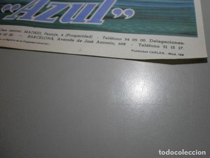 Coches y Motocicletas: folleto cartel publicidad carlen azul liquido de frenos años 50 original - Foto 3 - 243848025